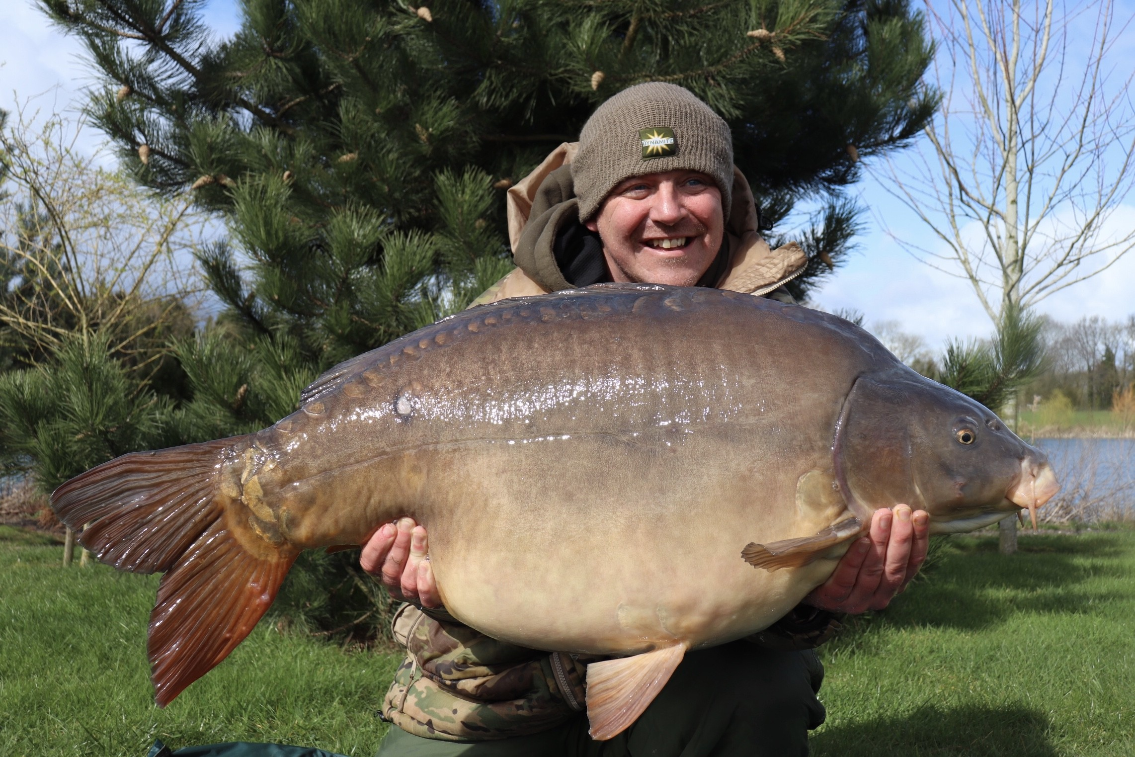 58lb 0oz caught on