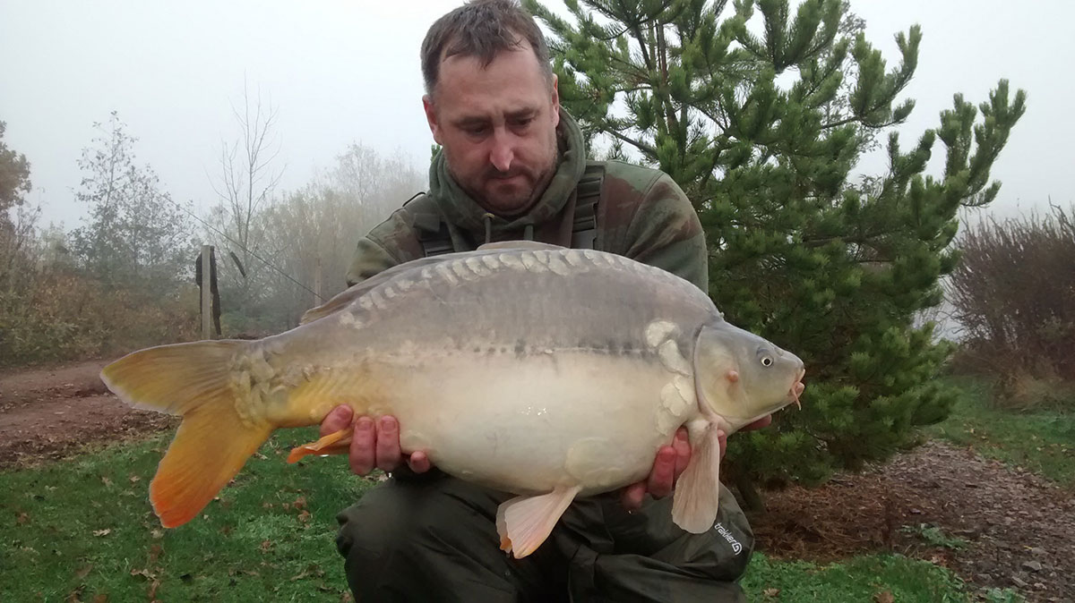 18-02 caught on White ice pop up over over parti blend