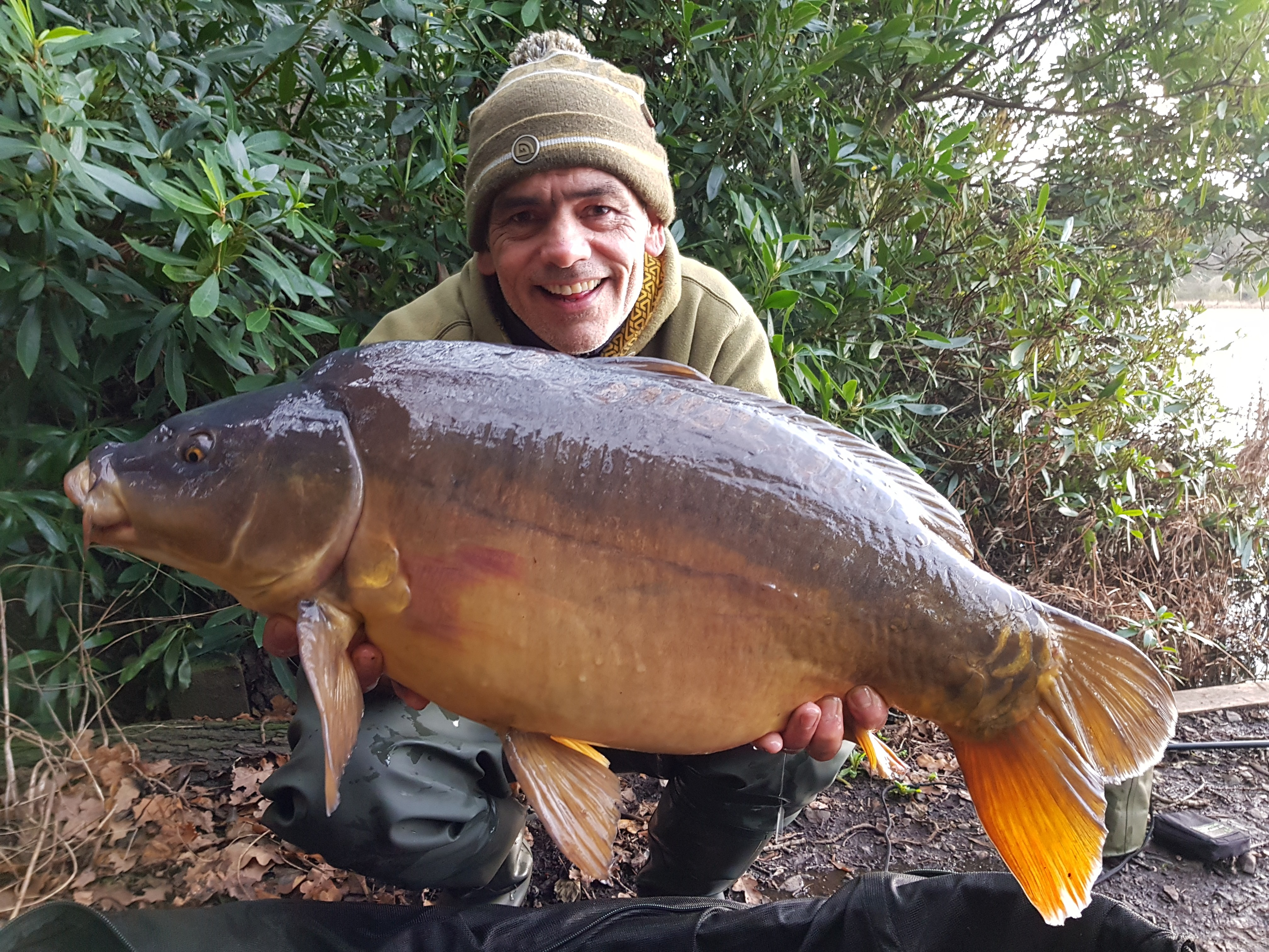 26lb 0oz  caught on