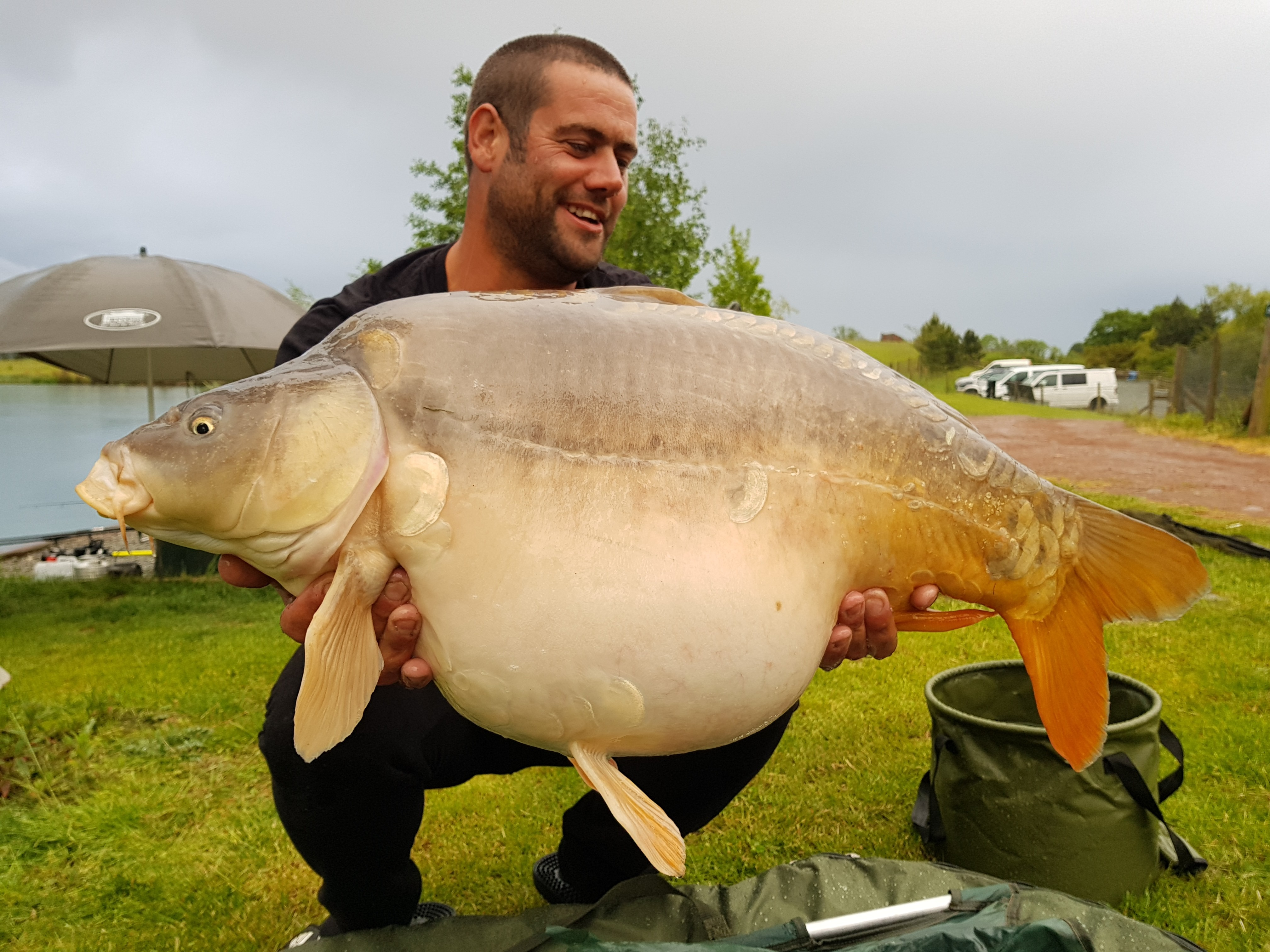 33lb 0oz 'Moonscale'  caught on