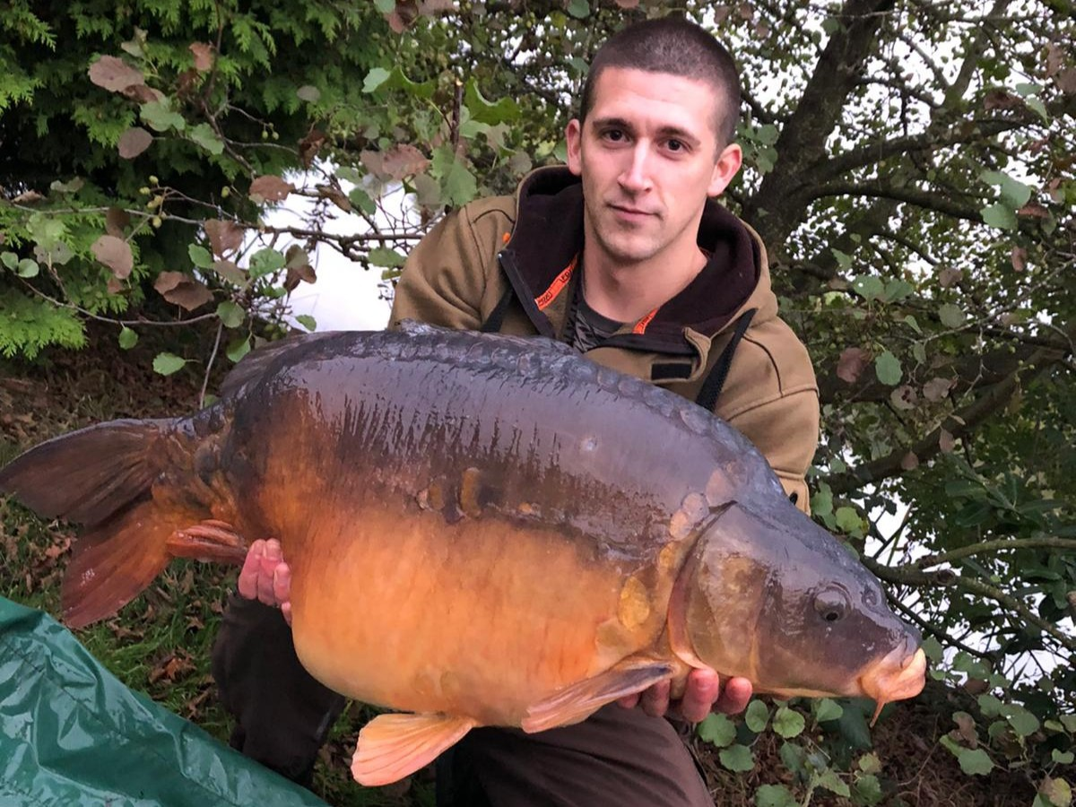 32lb 0oz  caught on