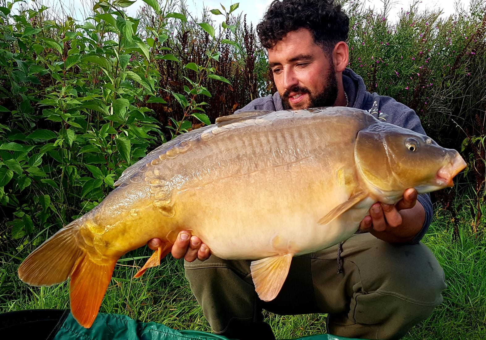 22lb 0oz  caught on