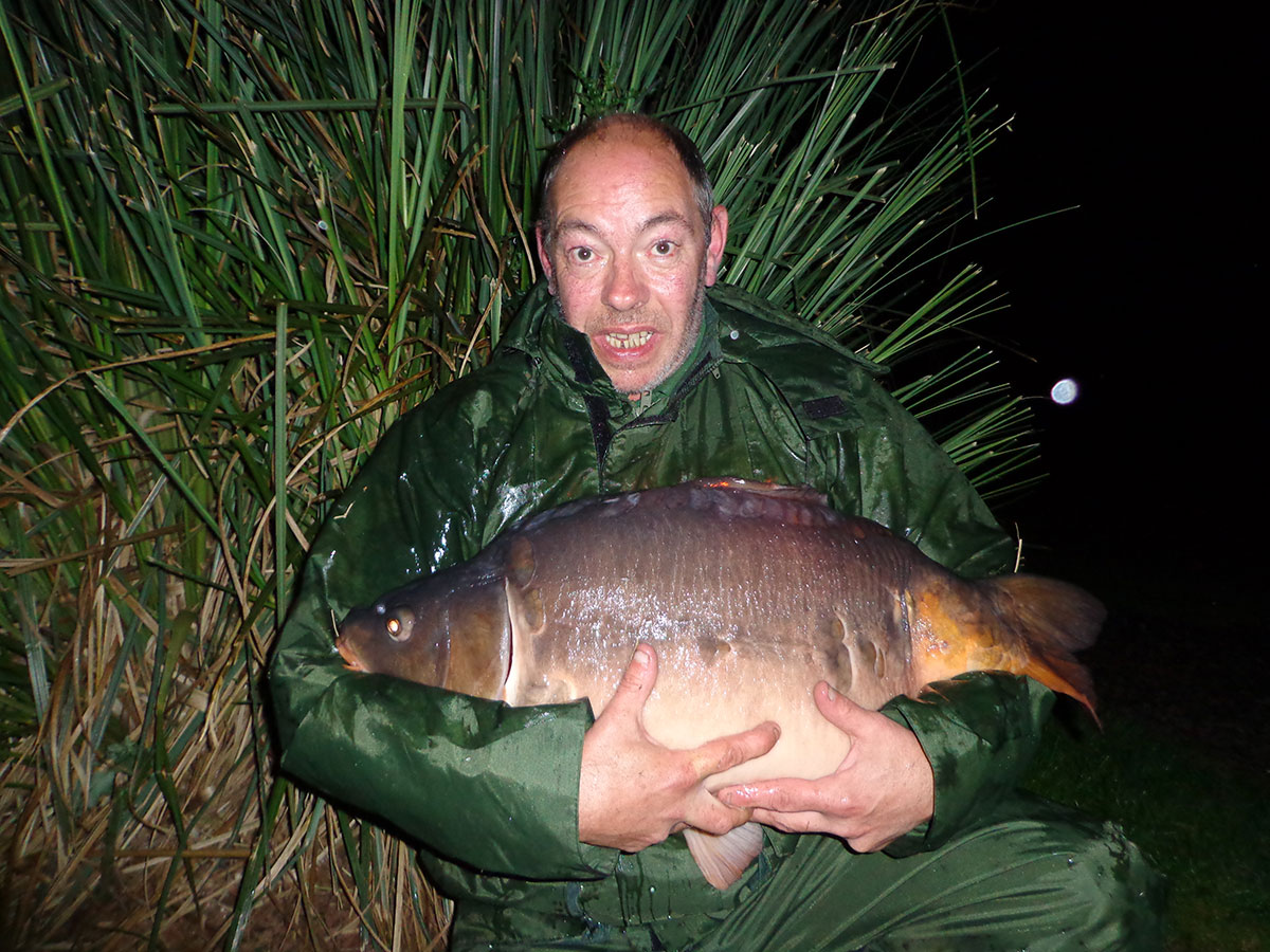 26-00 caught on worms/ sweetcorn