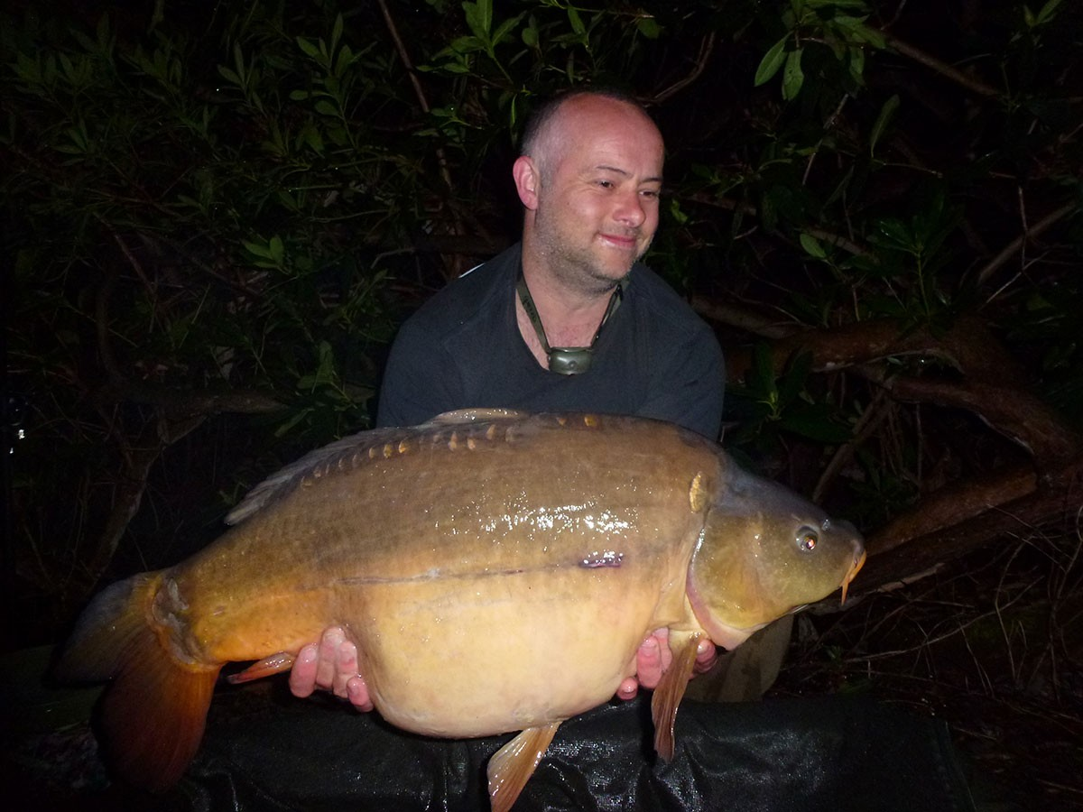 28-08 caught on B Caramel, partimix