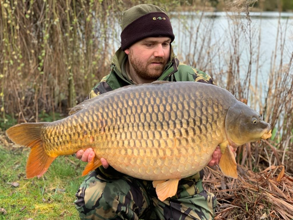 31lb 08oz  caught on Edge wafter
