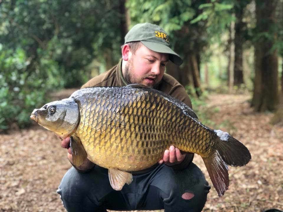 PB Products group fish upto 37lb  holding a  from RH Fisheries