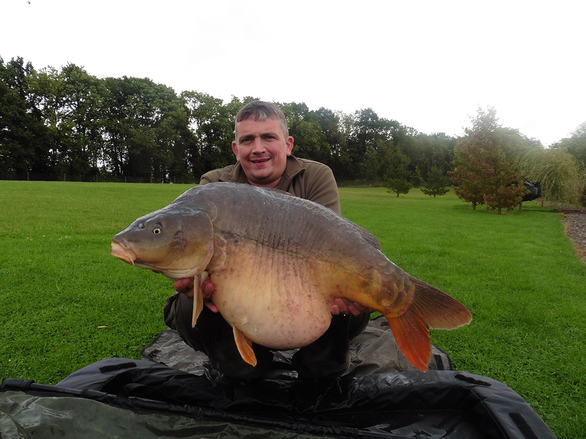 40-02 caught on boilie