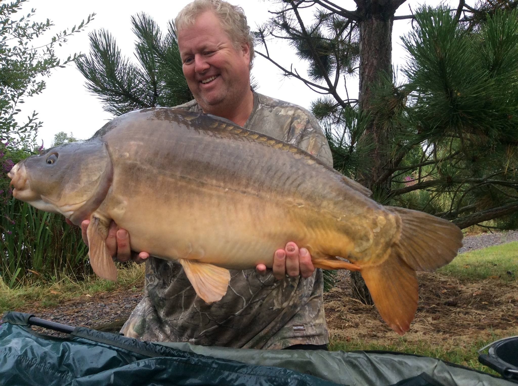 32lb 08oz 'The Big Rhino'  caught on The Edge