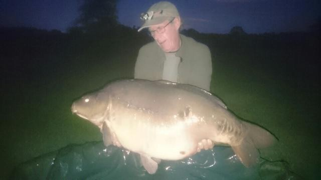 52lb 04oz caught on