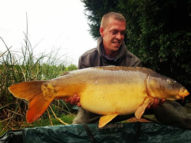 34lb 0oz  caught on