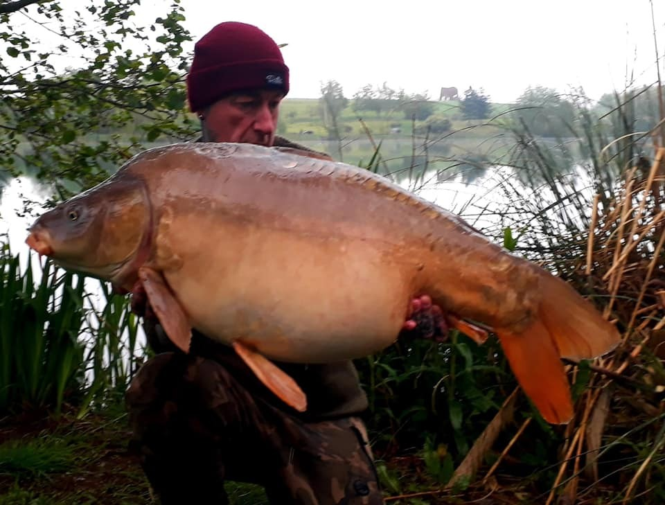 39lb 12oz  caught on