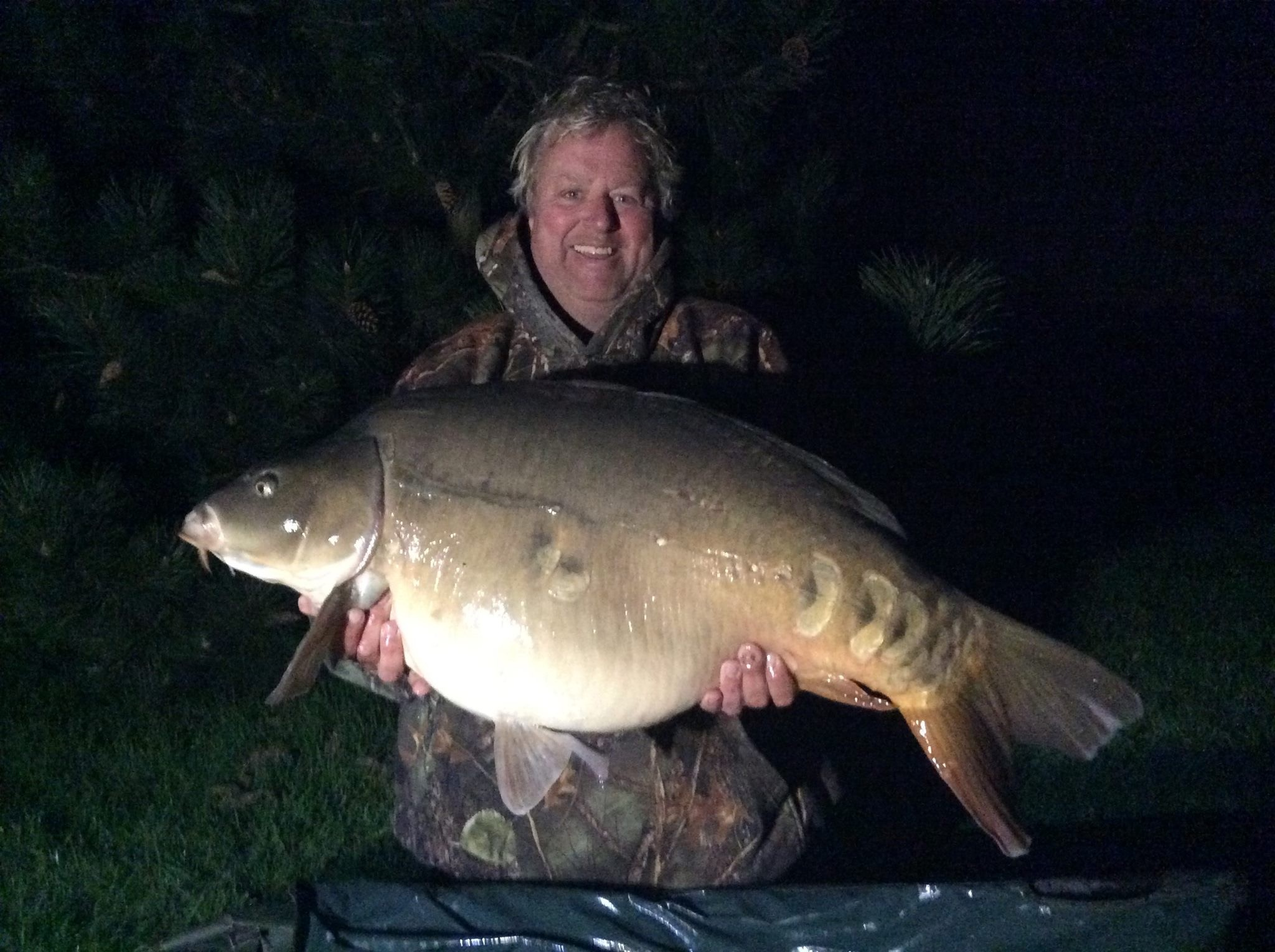 47lb 02oz 'Summers Mirror' caught on