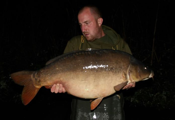 35lb 08oz  caught on The Sitch Holiday Swim