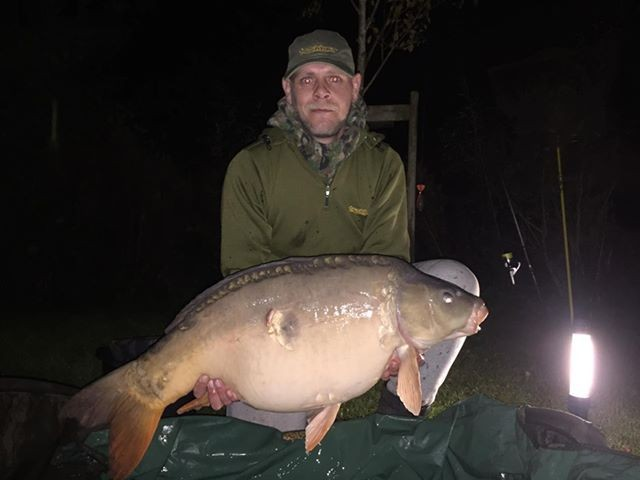 38lb 12oz 'Single Scale'  caught on