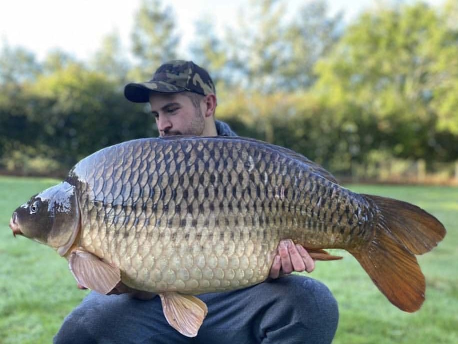 Connor Quinn holding a 36lb 08oz   from RH Fisheries