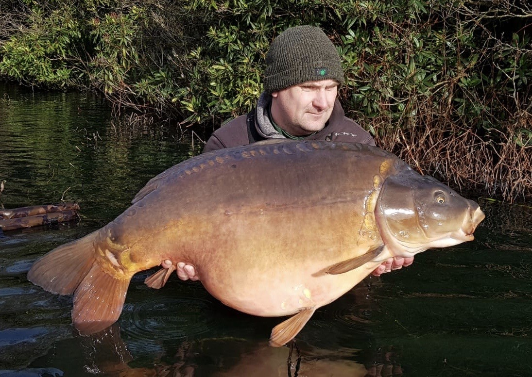 50lb 04oz 'The Big Girl'  caught on Feb 2020