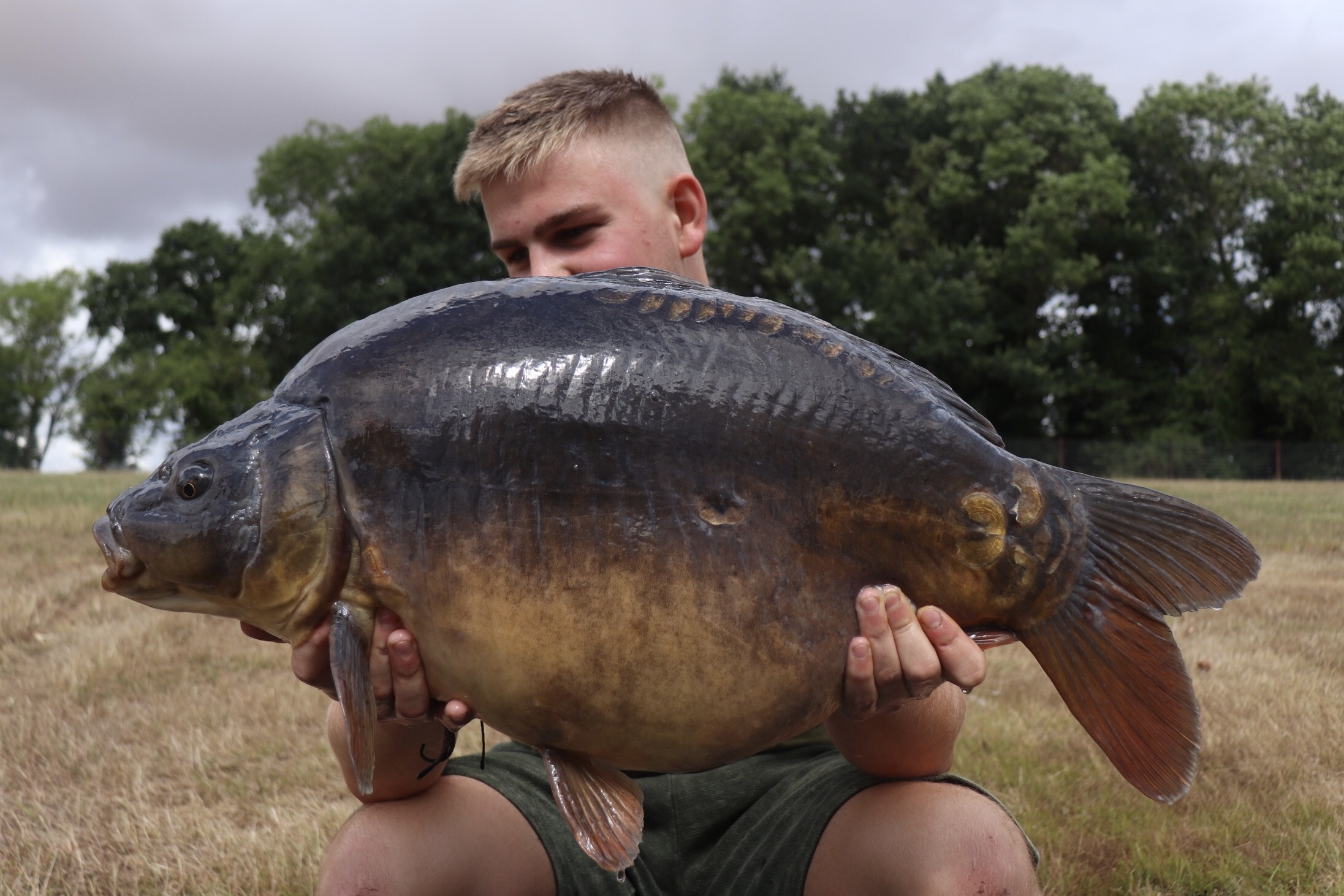 24lb 04oz  caught on