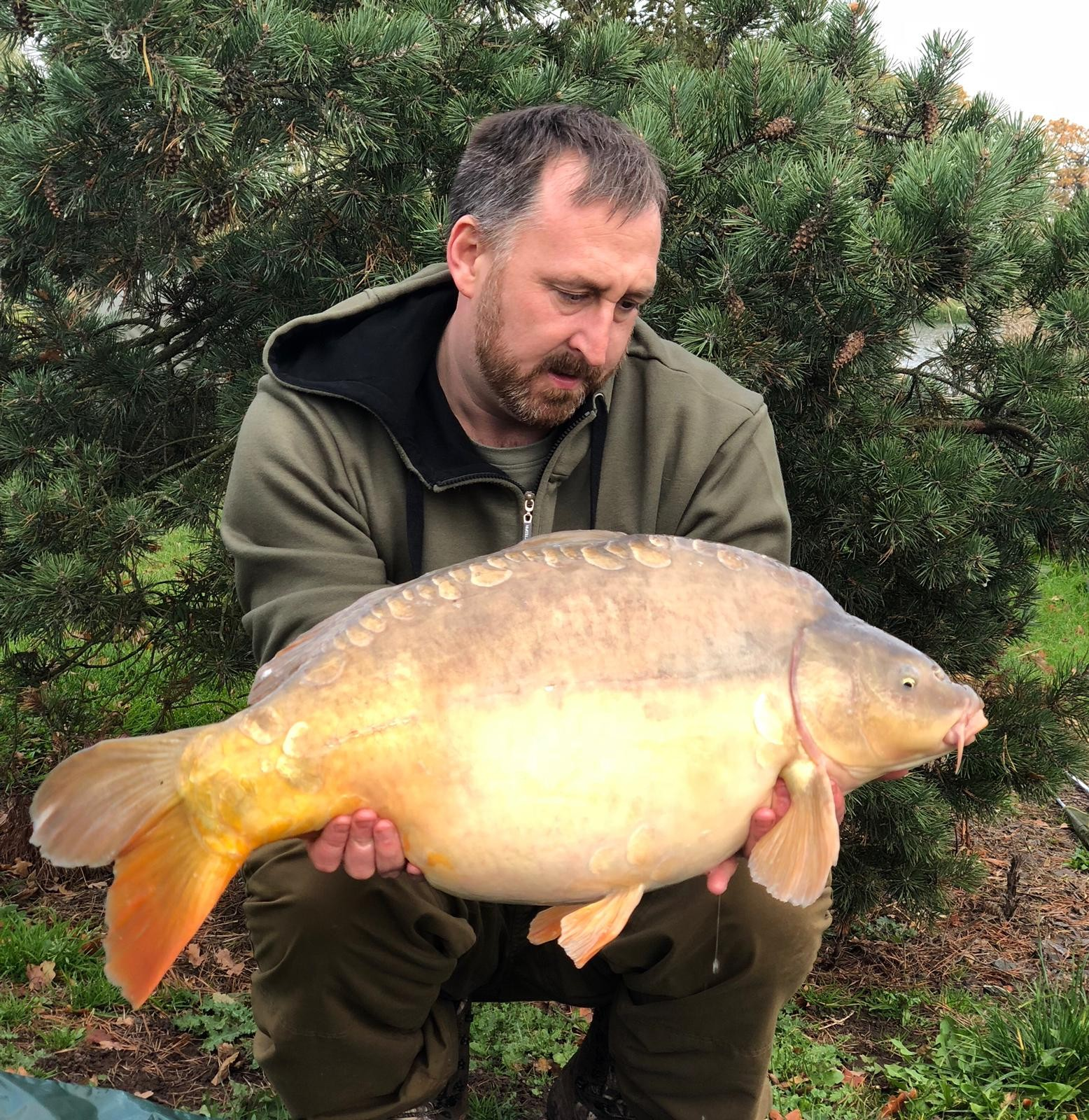 25lb 04oz  caught on