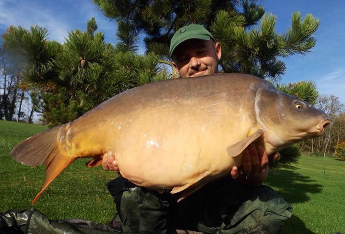 41-08 caught on Boilies