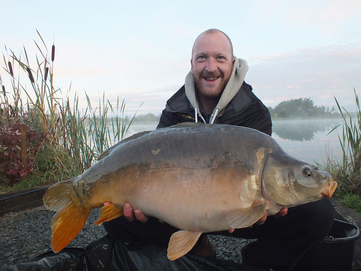 21lb-06 caught on Bio-toffee