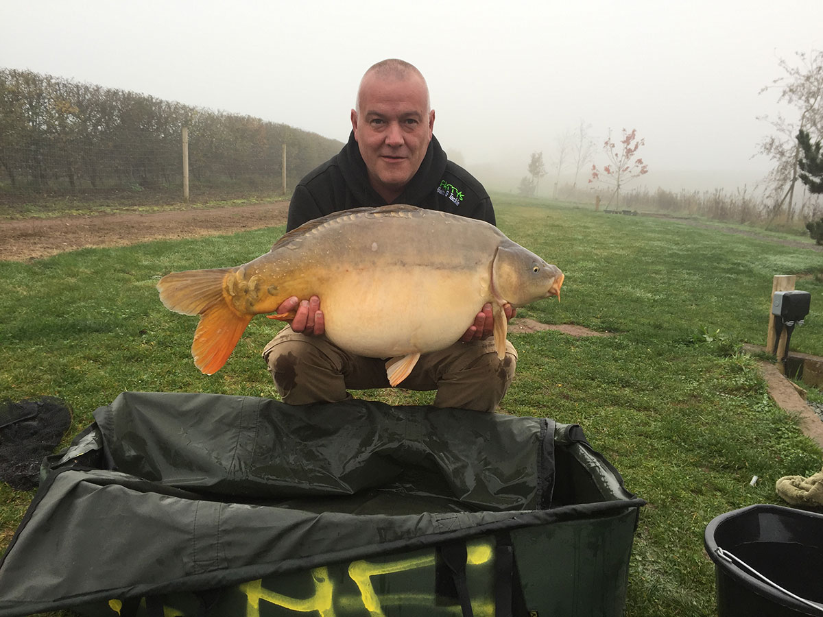 29-08 caught on Nut Mino, over loads of maize, parti blend and hemp