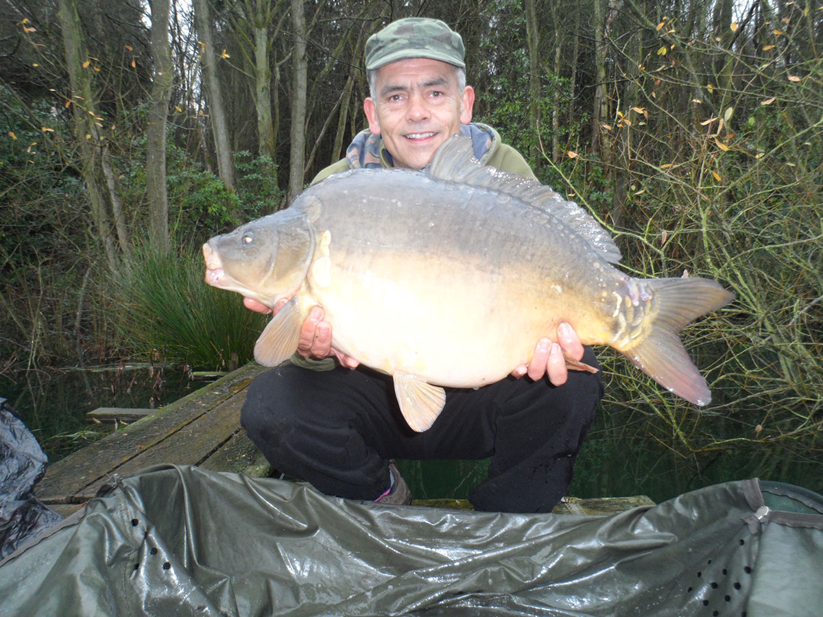 23-00 caught on Boilies