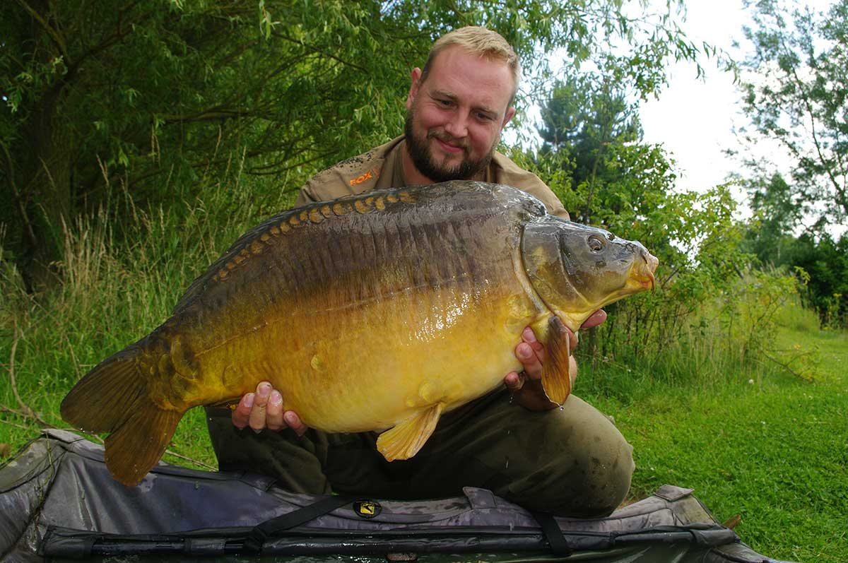 37-02 caught on Toffee bottom bait