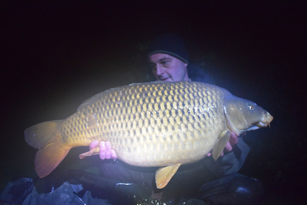 34-00 caught on Boilies