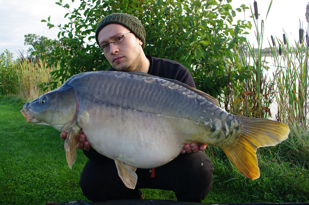 27lb-00 caught on Maize