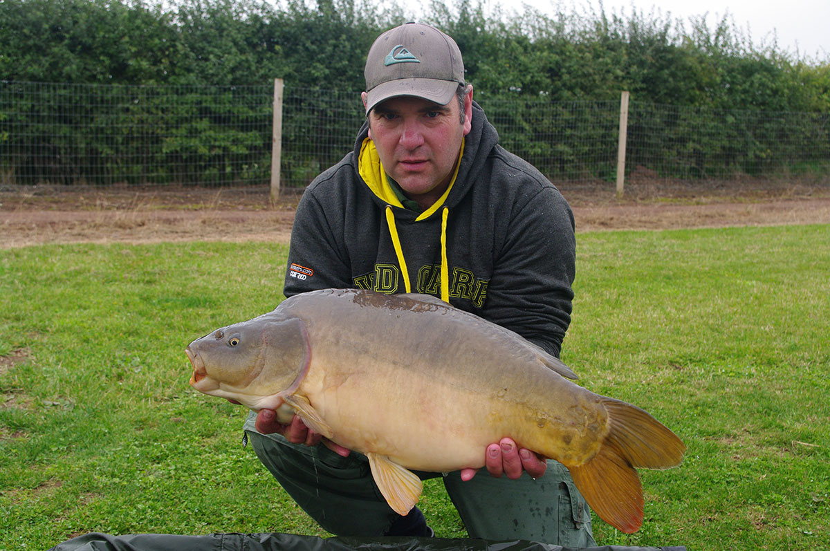 22lb 0oz caught on Yellow Monument Pop-up