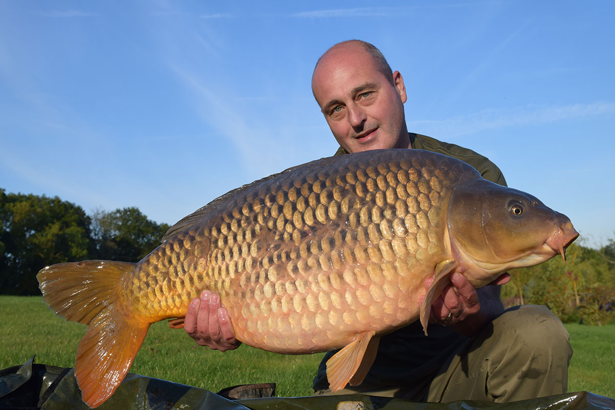 36-12 caught on Boilies