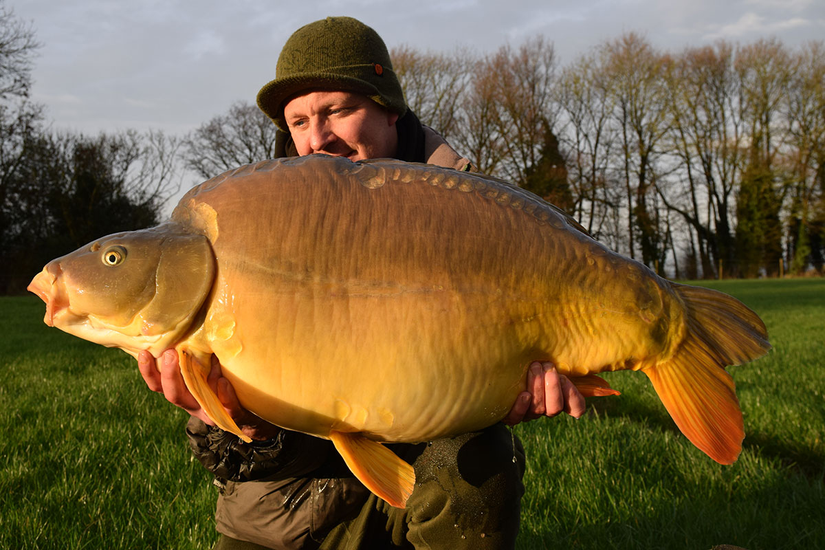 47-00 caught on Boilies
