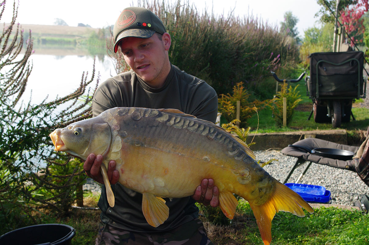 19lb 4oz caught on Maize