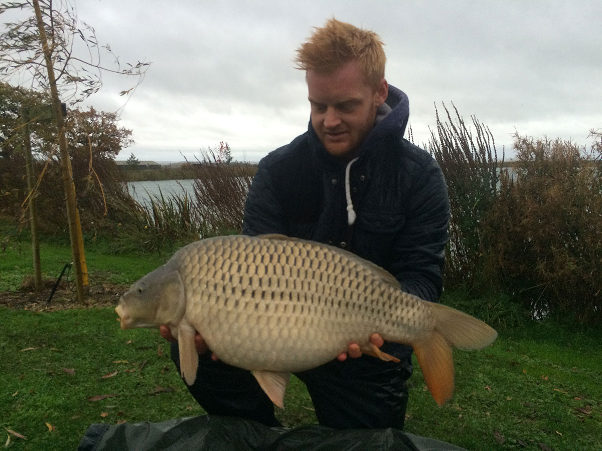 21-12 caught on Scopex Boilies