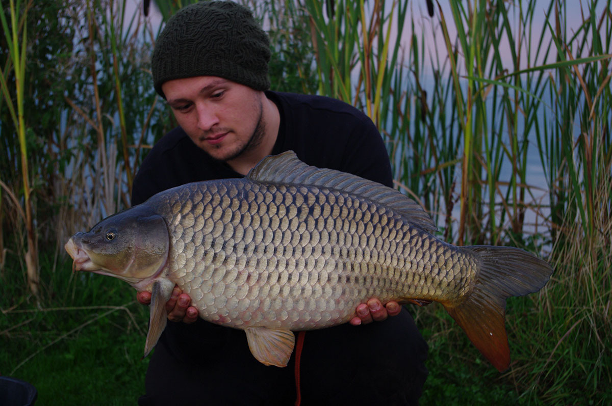 19lb 0oz caught on Double maize