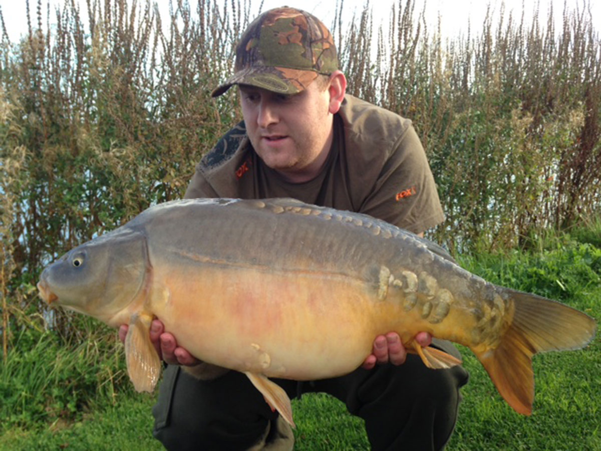 19-08 caught on boilies / Maize