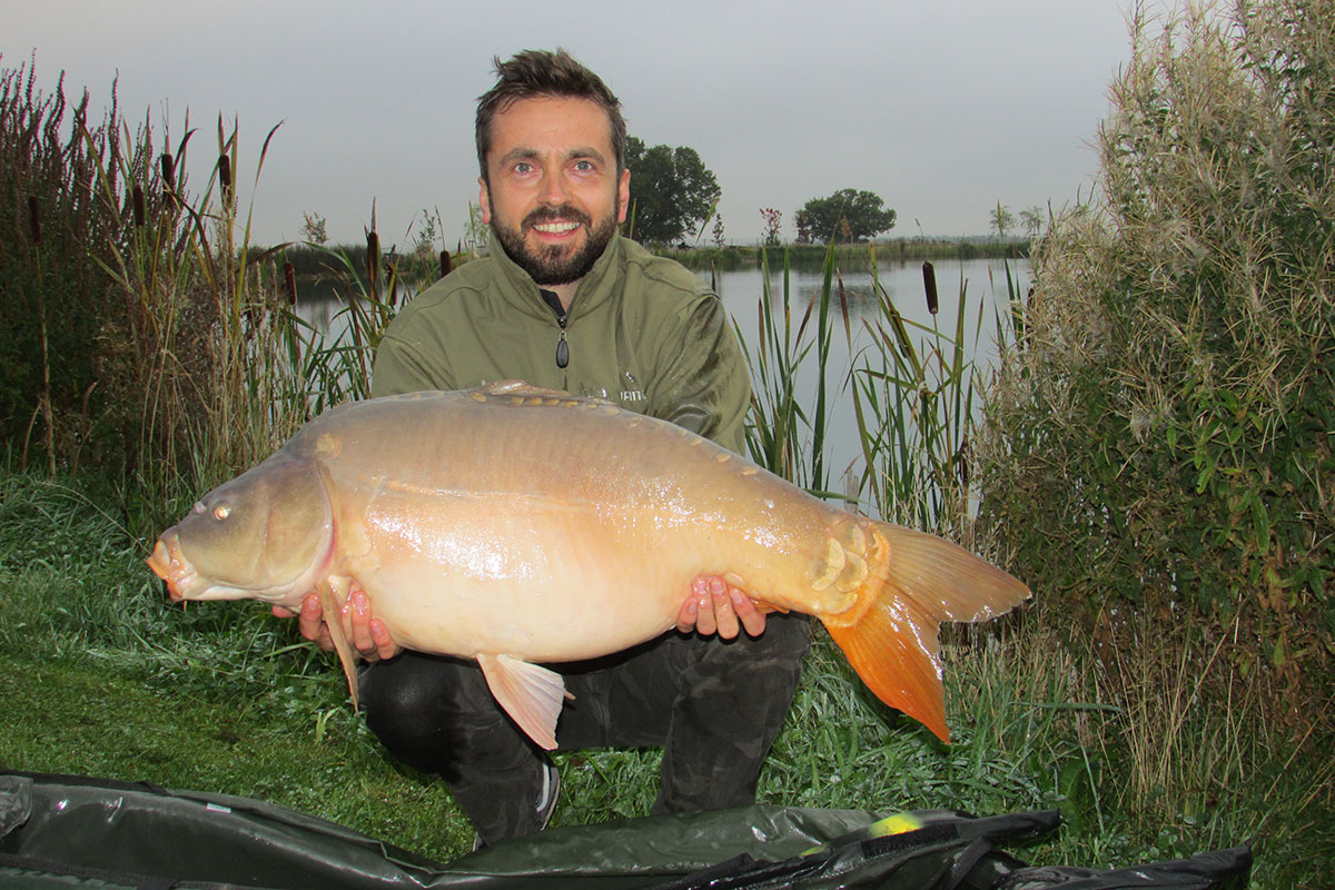 30-08 caught on Cell wafter, over partiblend