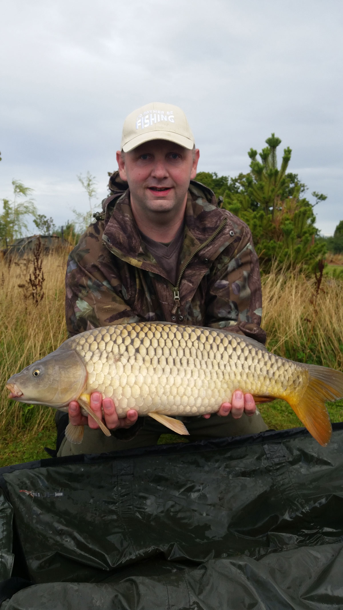 14lb-00 caught on Yellow Nut-Mino Wafter