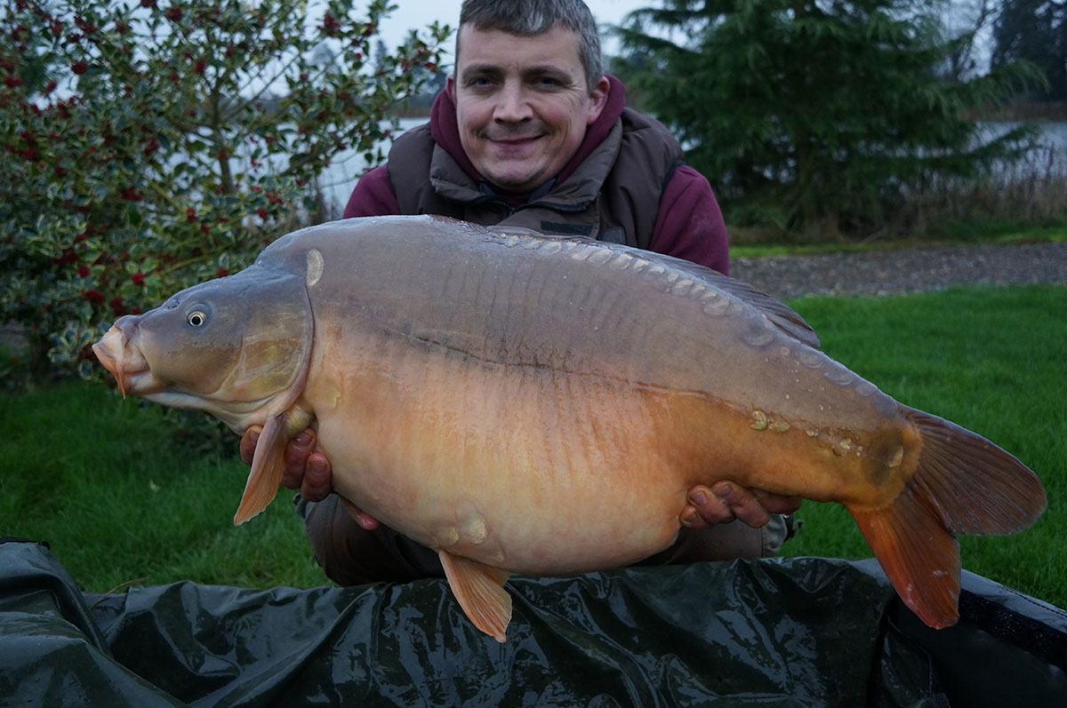 33-00 caught on Boilies