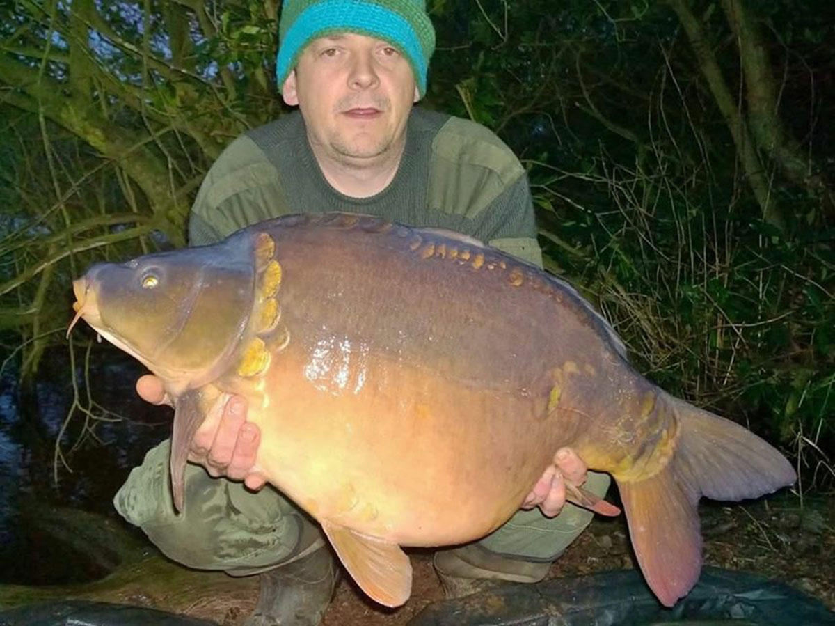 20-00 caught on Boilies