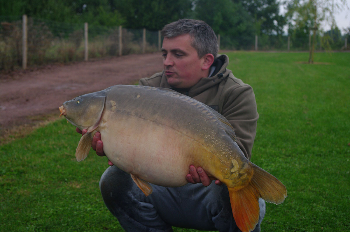 28lb 12oz caught on Yellow Monument wafter
