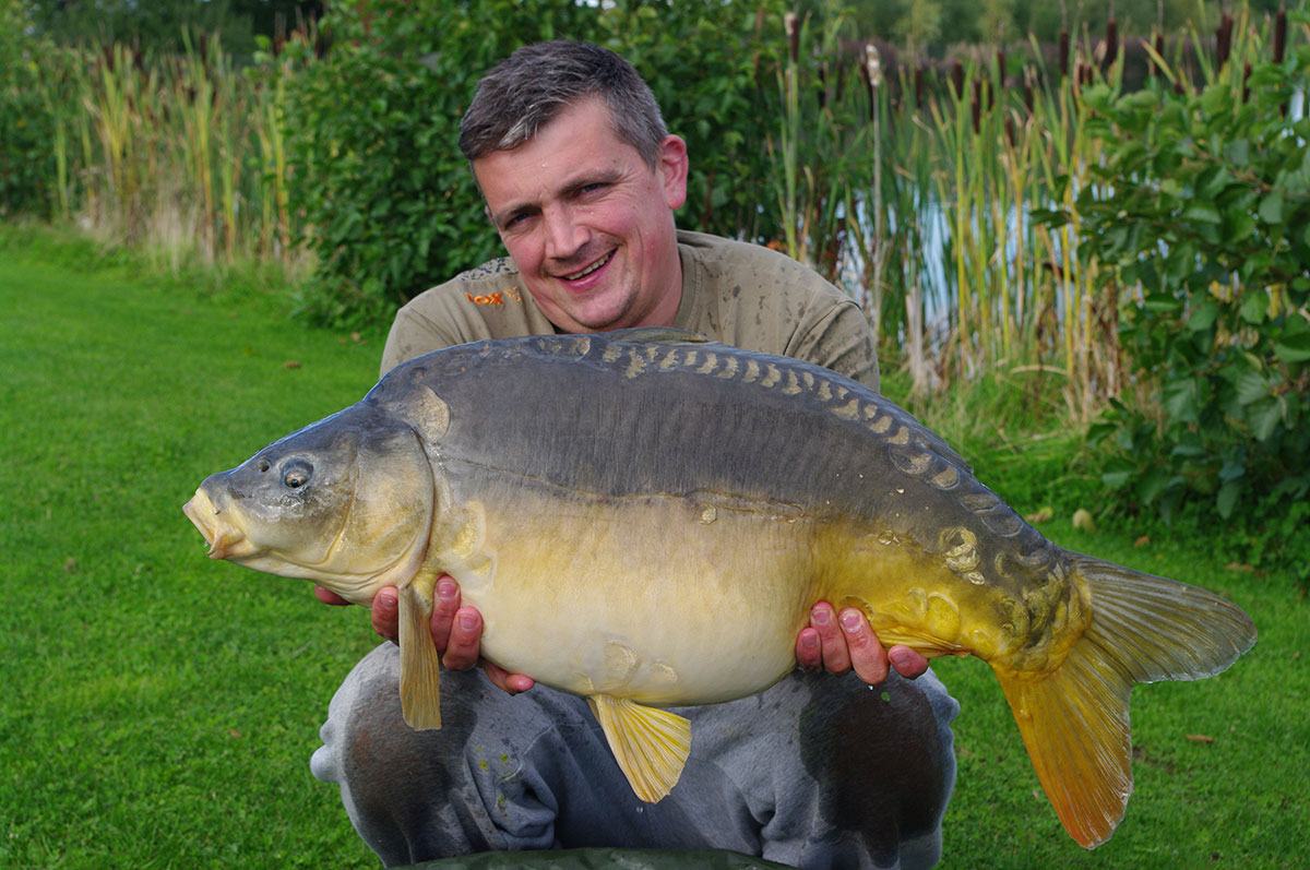 30lb 0oz caught on Yellow Nut-mino wafter