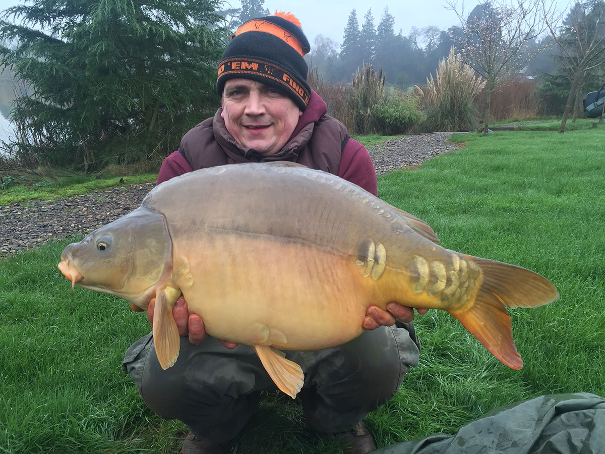 25-00 caught on Boilies