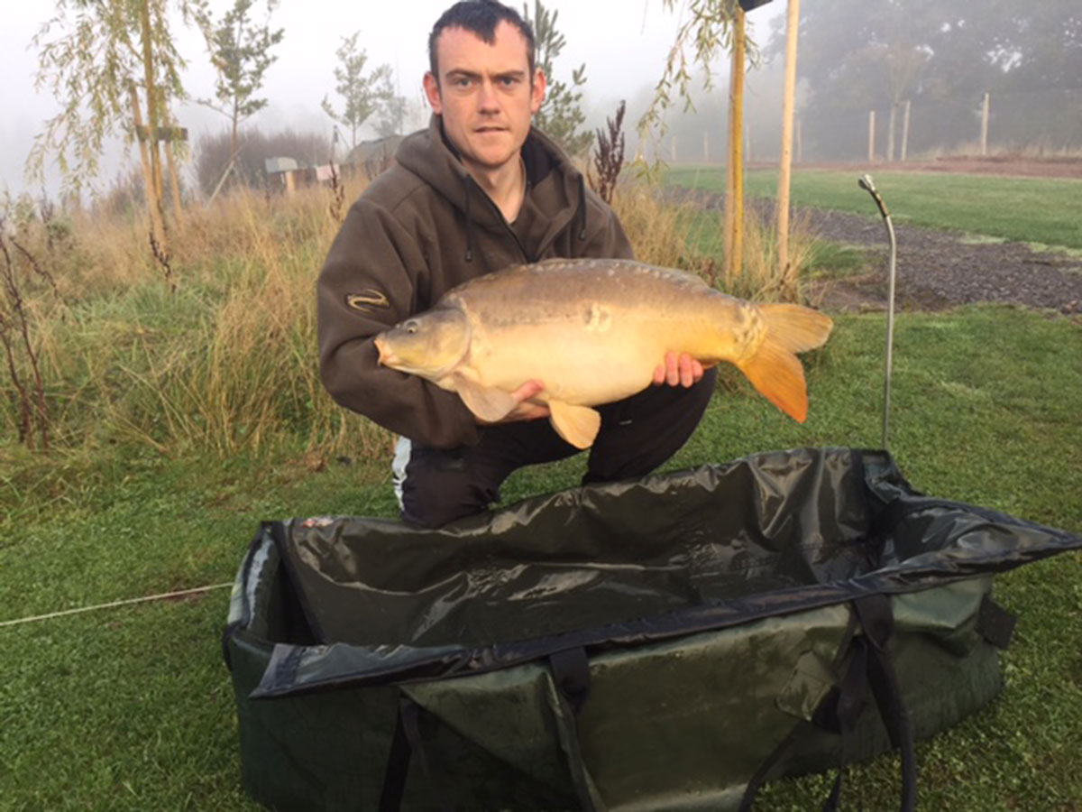 19-04 caught on Corn wafter