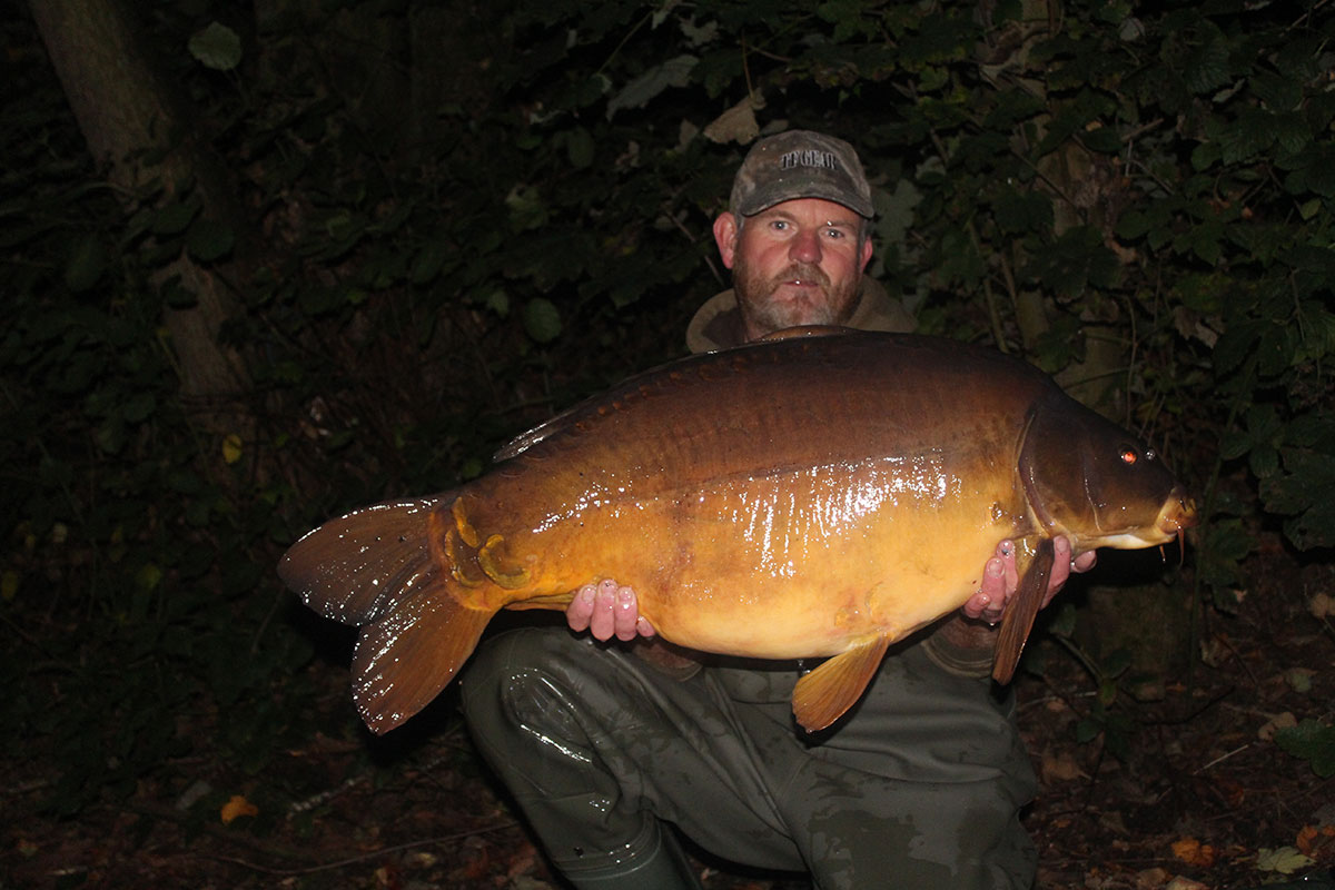 40-12 caught on boilies