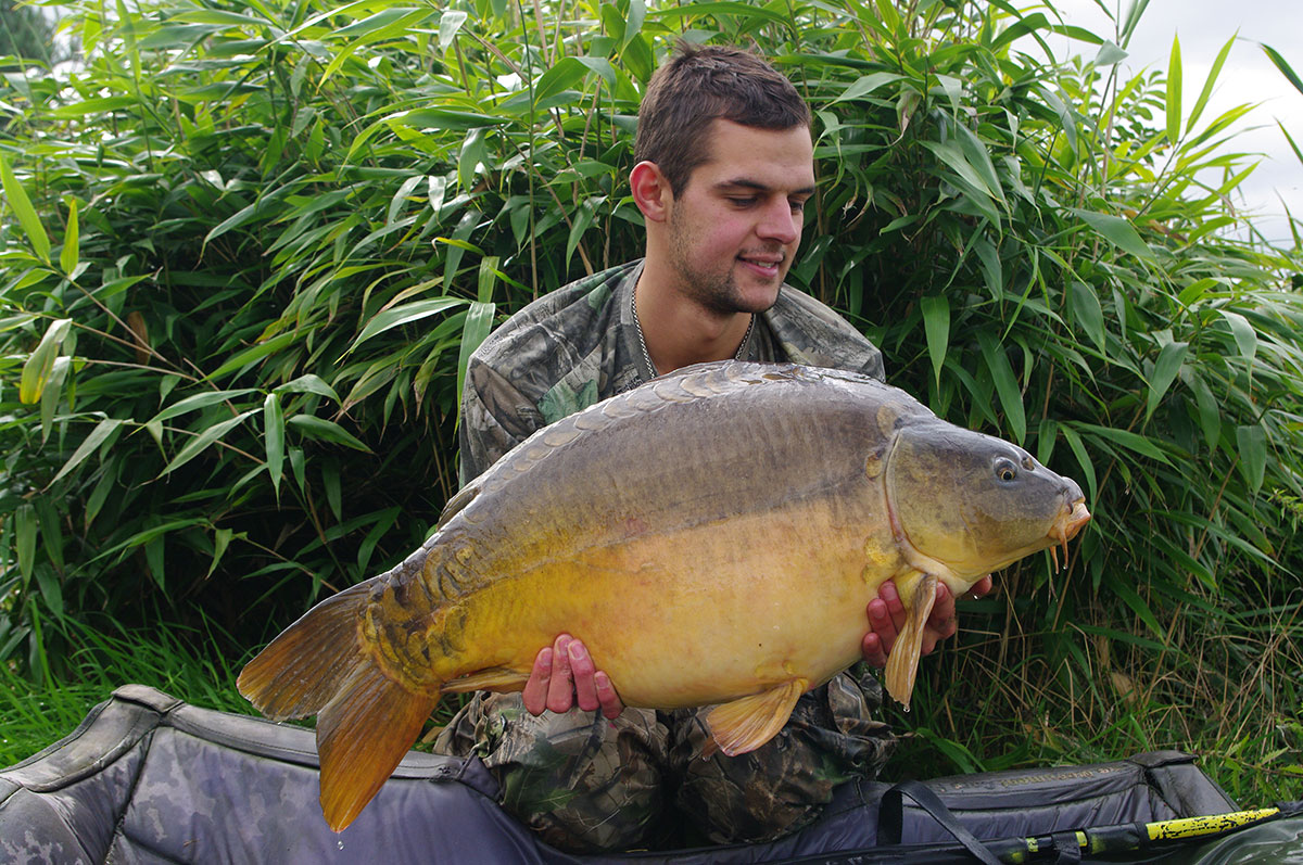 31lb 0oz caught on Worm