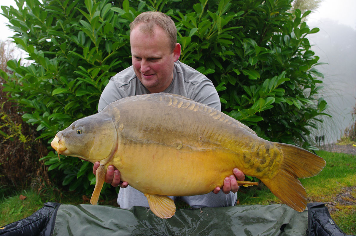 30-03 caught on IB Wafter with maggots on the hook