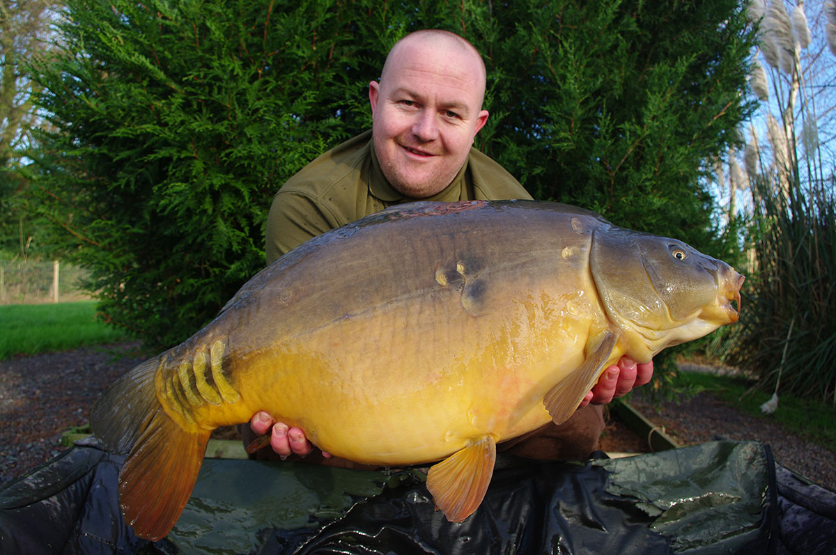 34-12 caught on Boilies