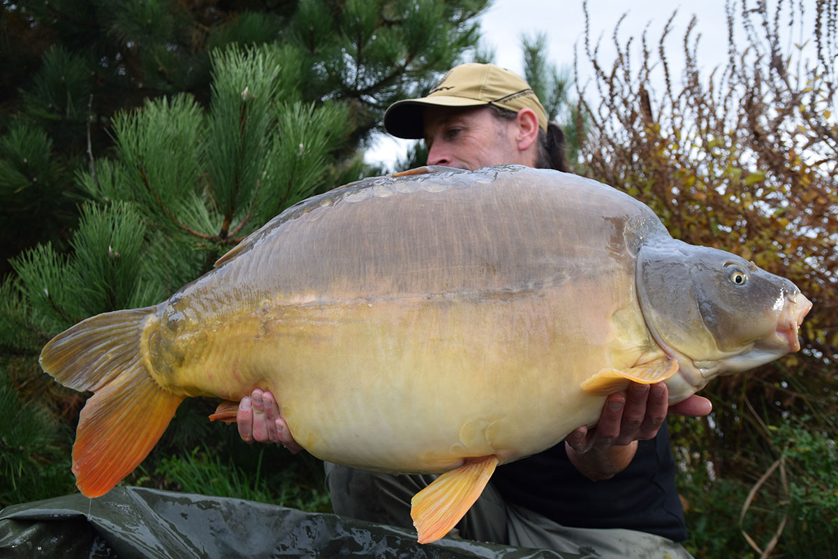 45-04 caught on Boilies