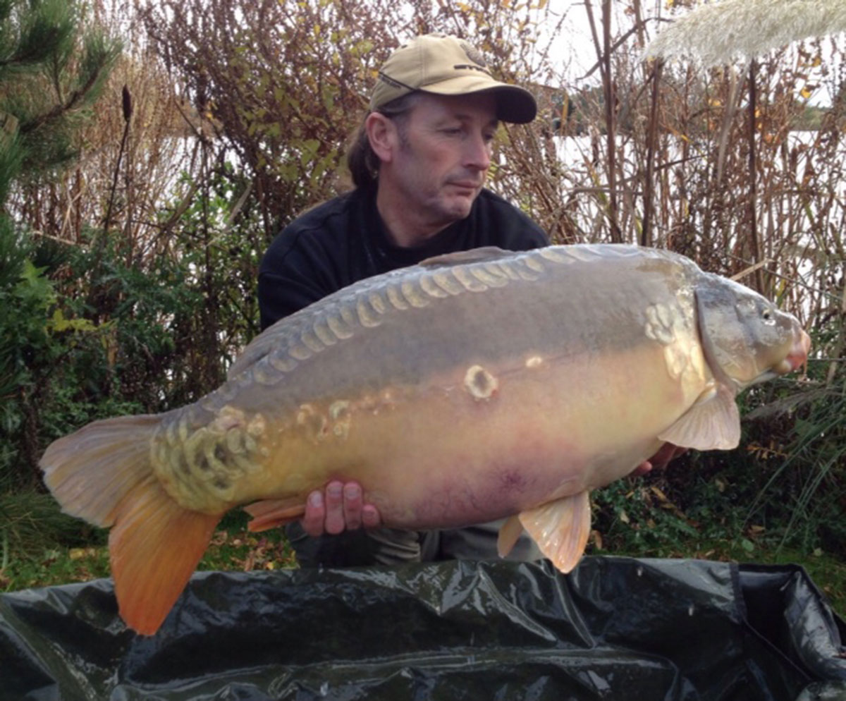 36-00 caught on Boilies